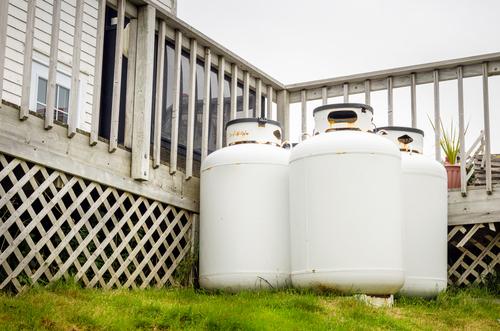 propane powered generators