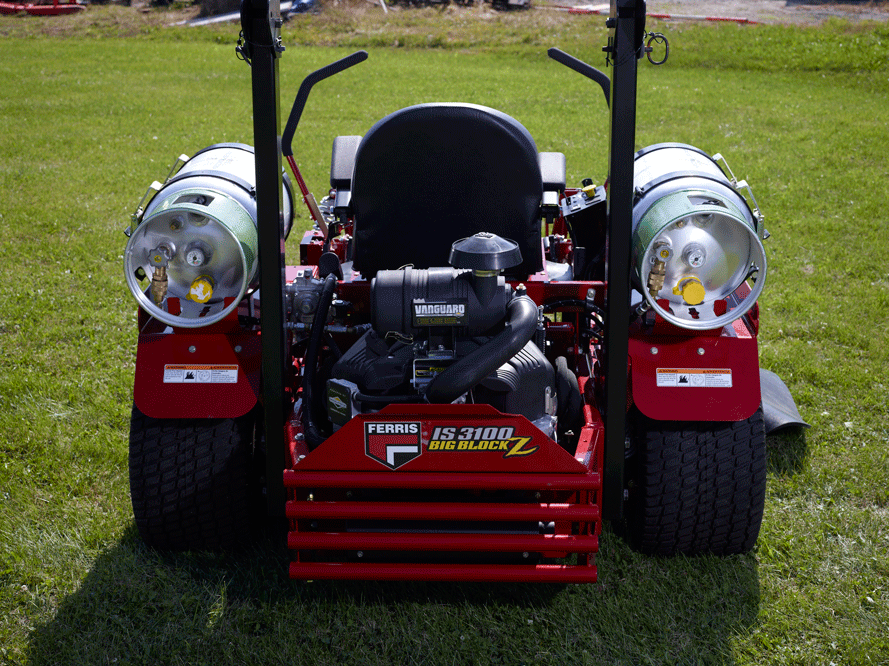Propane Powered Lawn Mower LinGas
