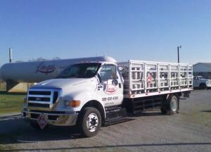 LinGas Propane Supply Truck