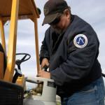 Propane construction fuel job site