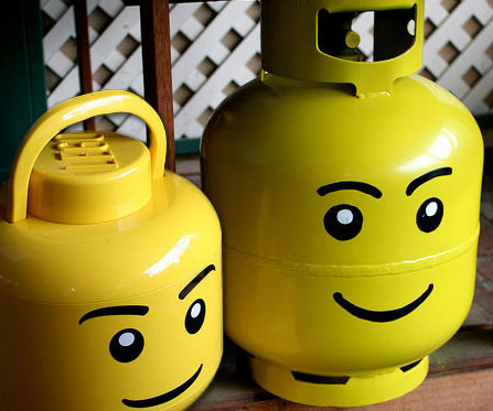 Can I Paint My Propane Tank? | Lin-gas Propane Services