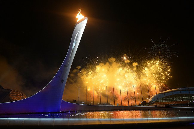 Sochi Olympic Torch Propane Power