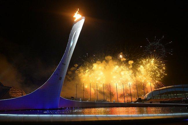 Sochi Olympic Torch Propane Power